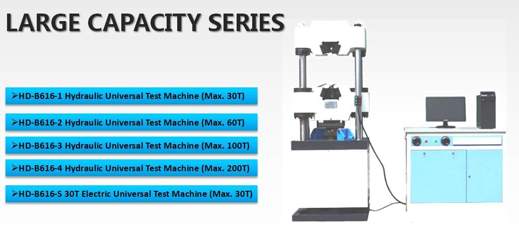 Tensile testing machine specifications