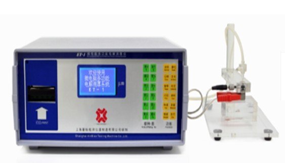 Electrolytic  coating  thickness tester