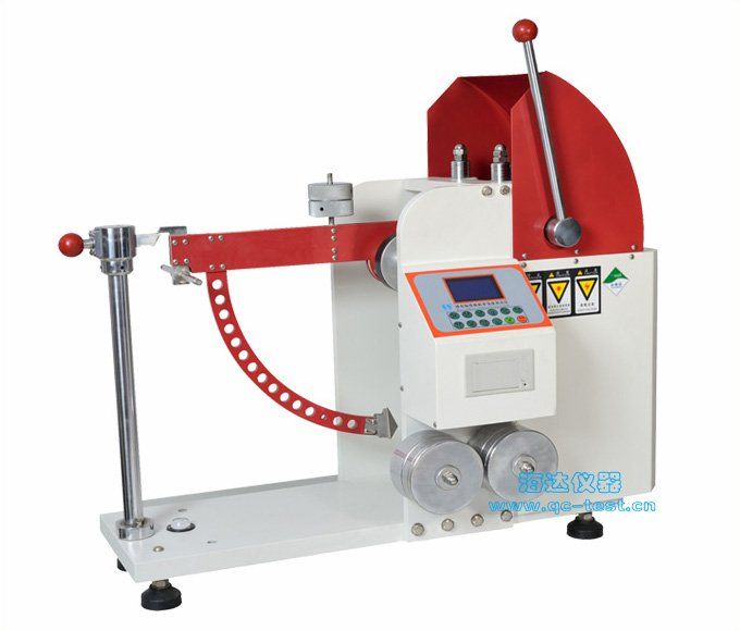 Cardboard puncture strength testing machine
