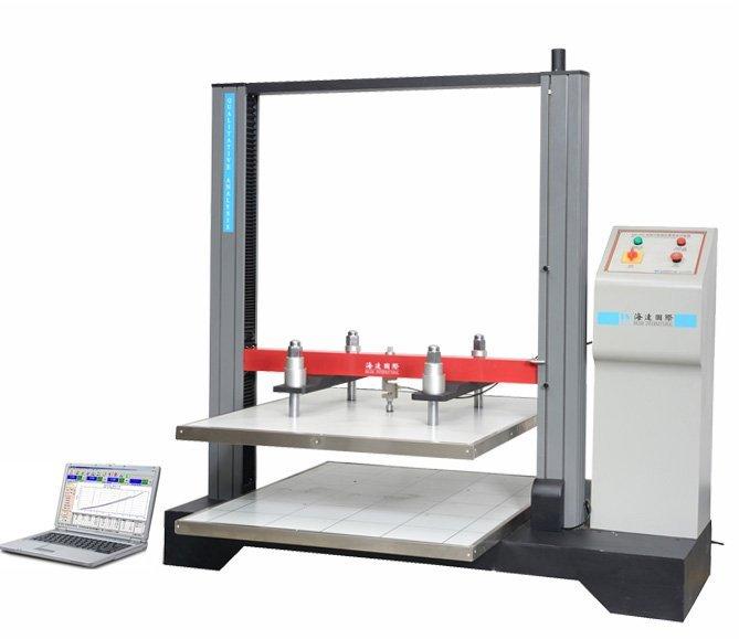 microcomputer type carton compressive tester