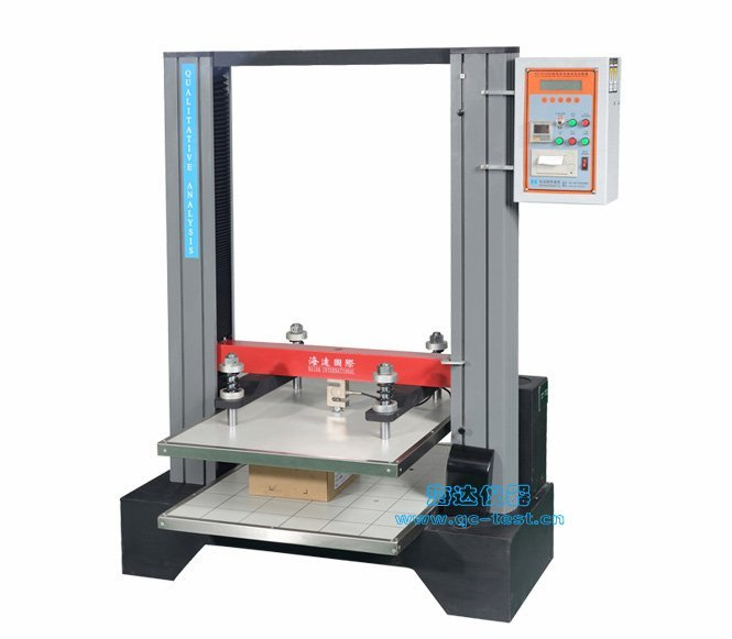Corrugated Carton Compression Testing Instrument
