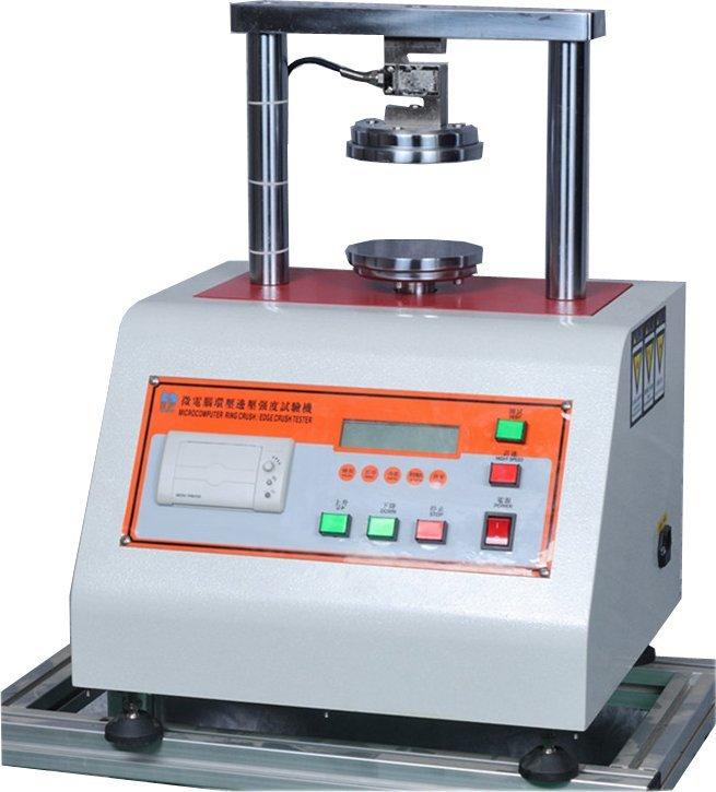 Microcomputer ring blank holder pressure strength tester