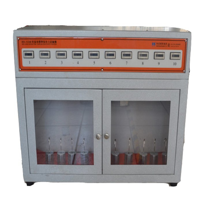 room temperature tape holding time tester