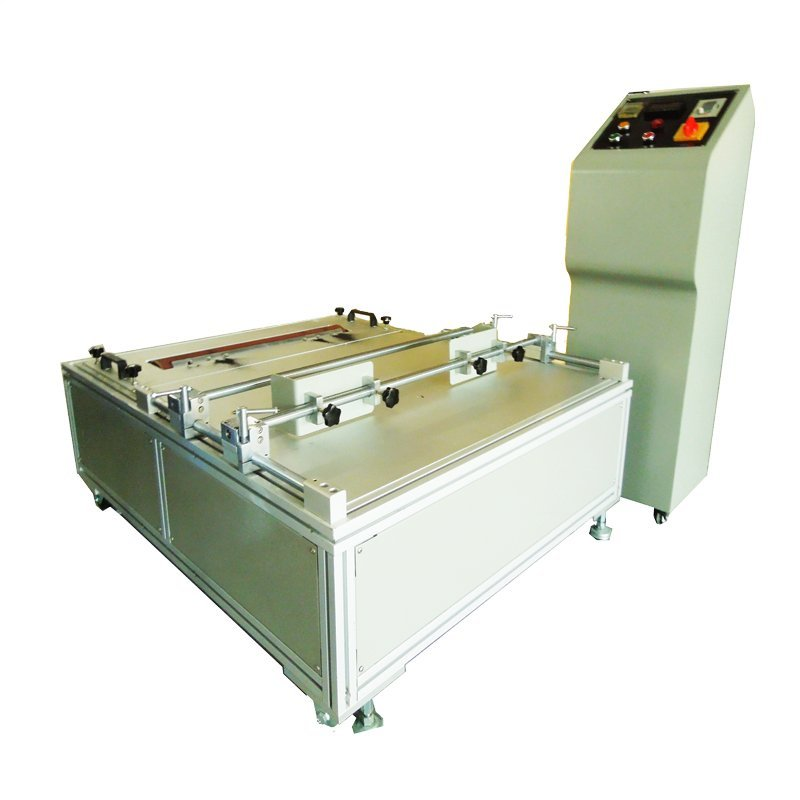 Baby wheel brake abrasion testing machine