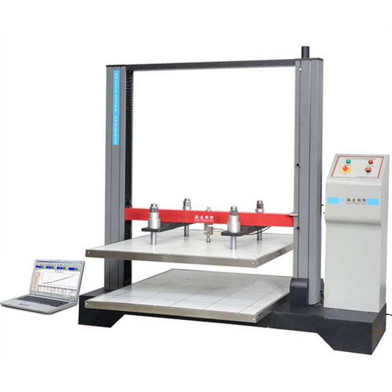 Paper carton compression tester