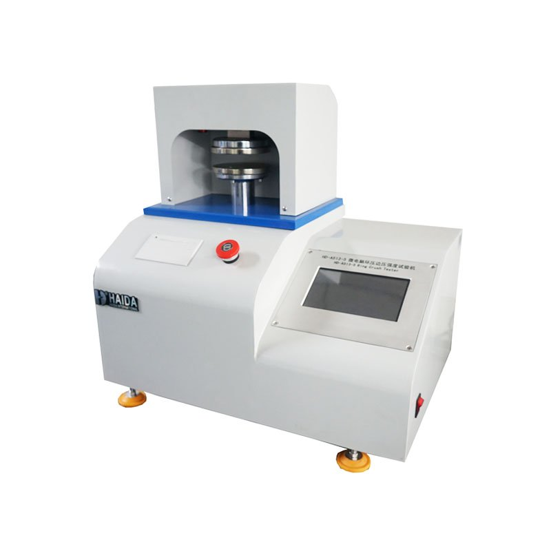 Ring blank holder pressure strength tester