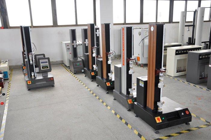 Tensile strength testing machine
