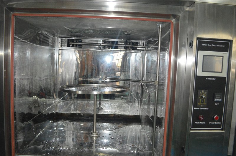 Xenon Arc test chamber