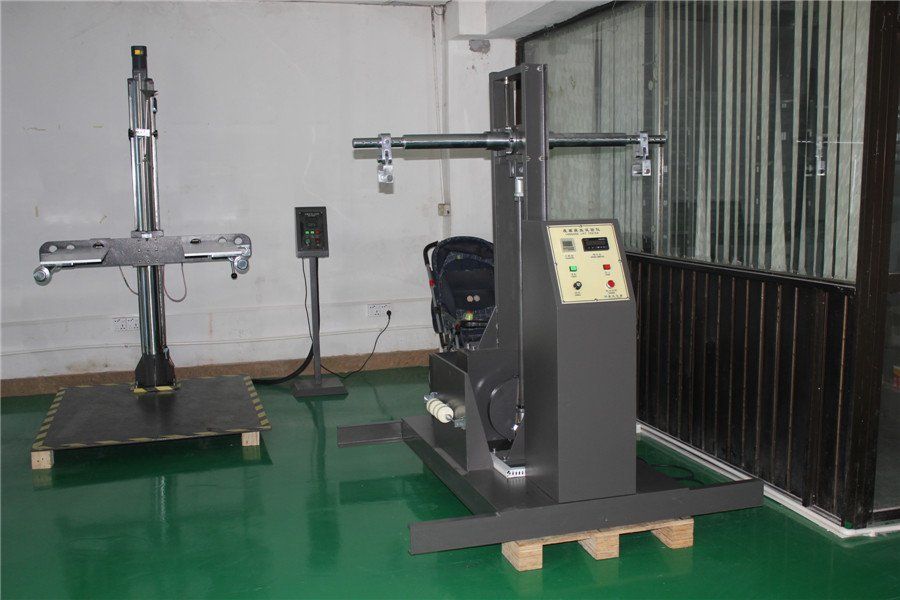 Suitcase handle fatigue test equipment