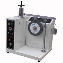 suitcase wheel abrasion testing equipemnt