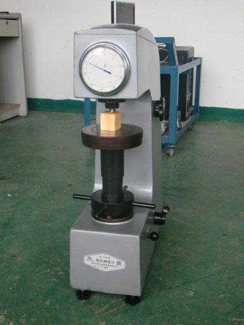 Rockwell hardness test machine