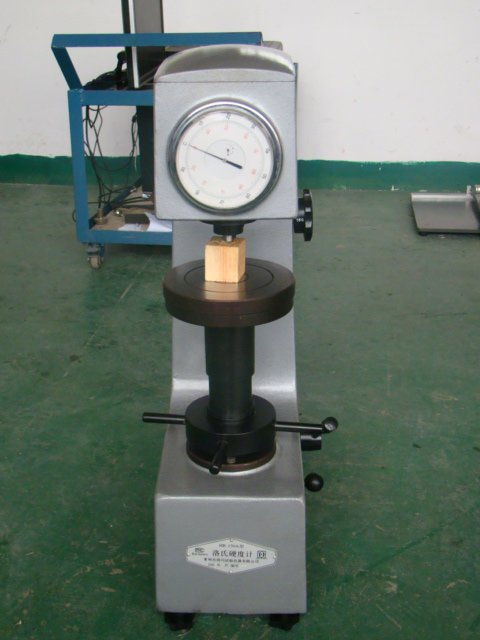 Rockwell hardness test machine