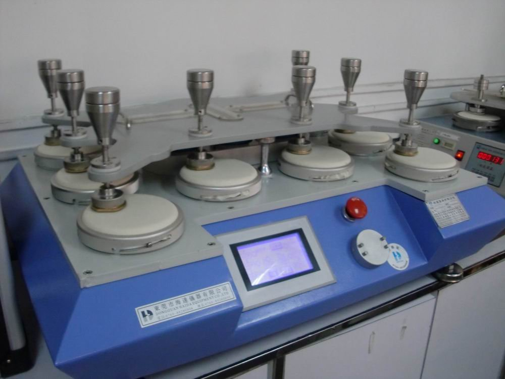 Martindale Testing equipment