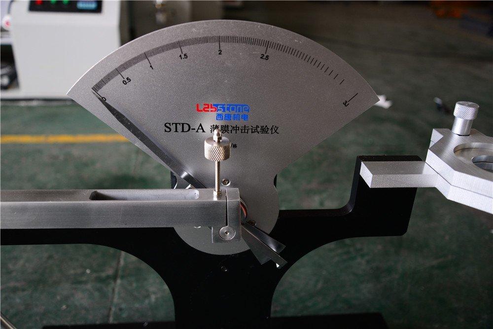 Film impact testing instrument