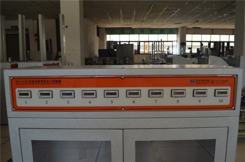 Temperature Type Tape Retentivity Testing Machine