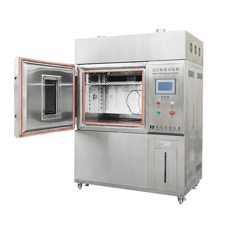 Xenon enviroment testing chamber
