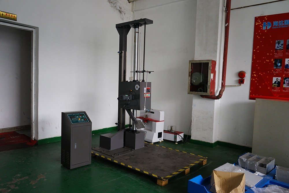 package drop test machine