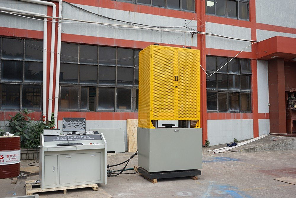 steel tensile test machine