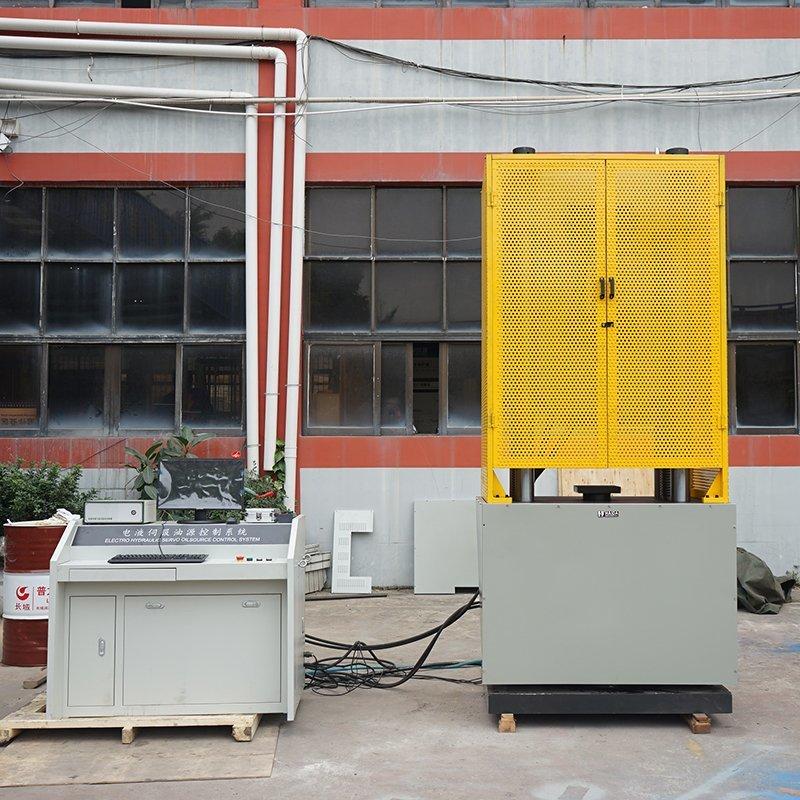 steel tensile testing
