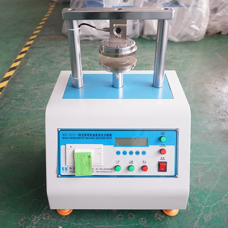 Paper Test Instruments : Paper crushing strength testing instrument