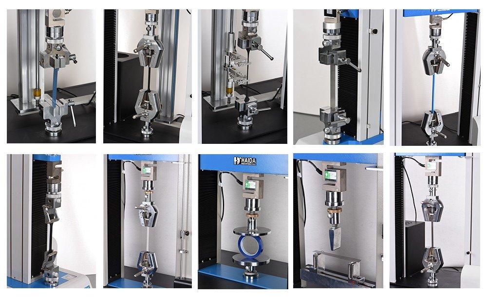 universal testing machine fixtures