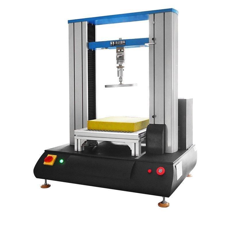 Sponge foam compression testing machine