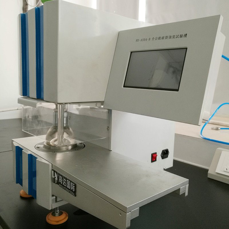 Paper Fabric Bursting Strength Tester