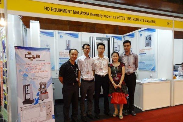 Our Exhibiton in Malaysia