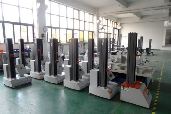 Tensile Machine in Assembly Area