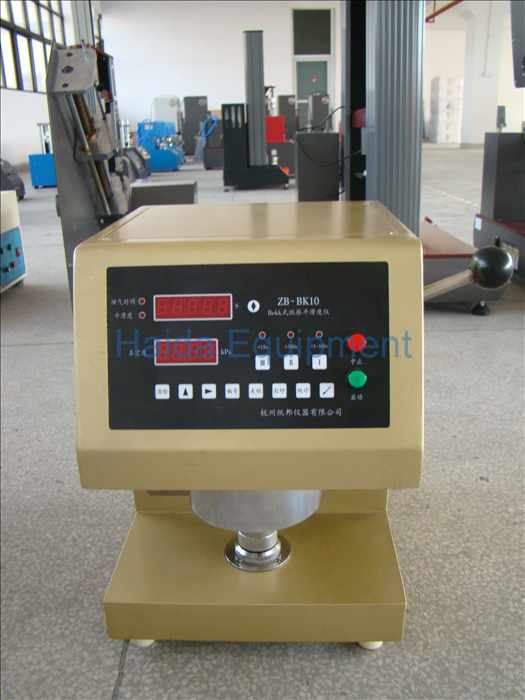 Beck-type smoothness tester HD-A821