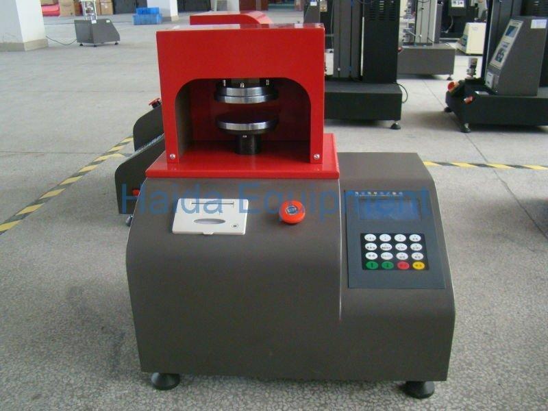 Ring blank holder pressure strength tester