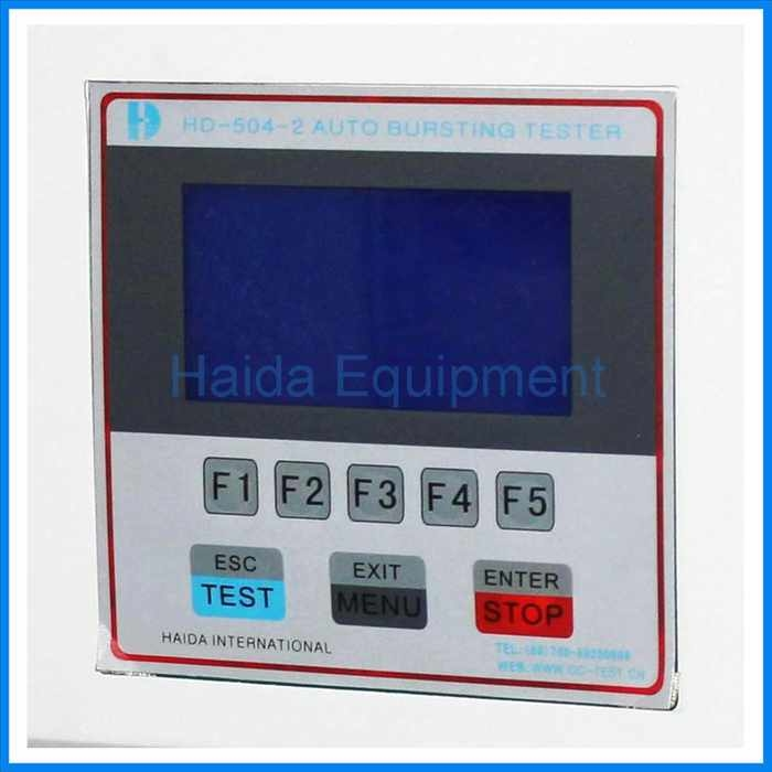 LCD screen paper rupture strength testing equipment