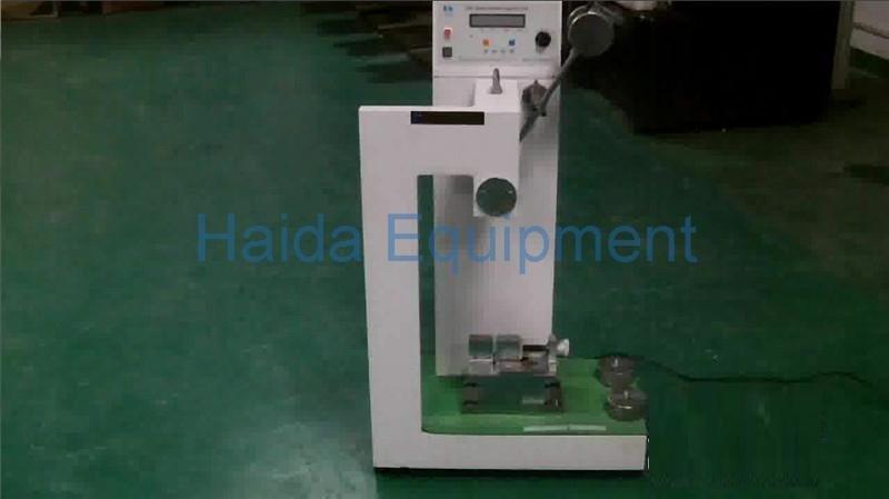 Plastic Material Charpy Impact Testing Machine