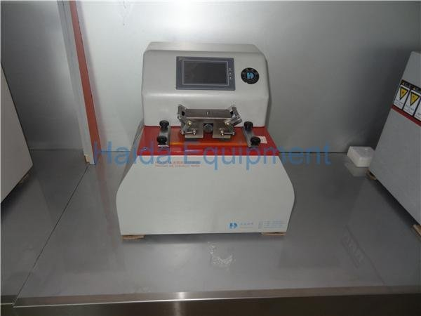 Paper and Prints Ink Rub Test Instrument