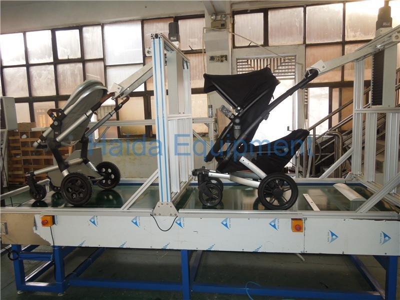 Stroller dynamic endurance test machine