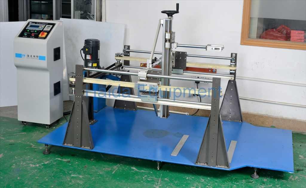 Office Chair Caster Durability Testing Machine