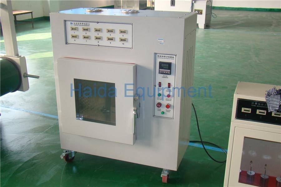 Temperature Adhesion Tape Retentivity Test Machine