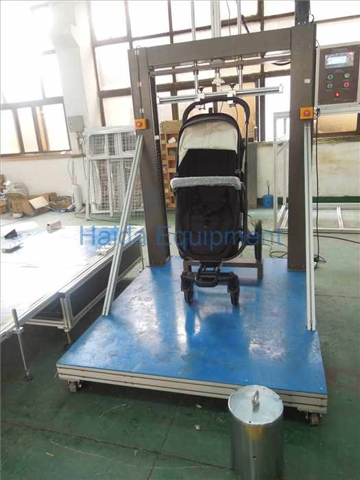Hand strollers lift down durable testing equipment
