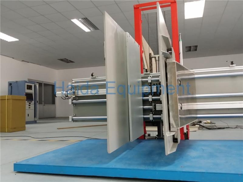 Clamping testing equipment