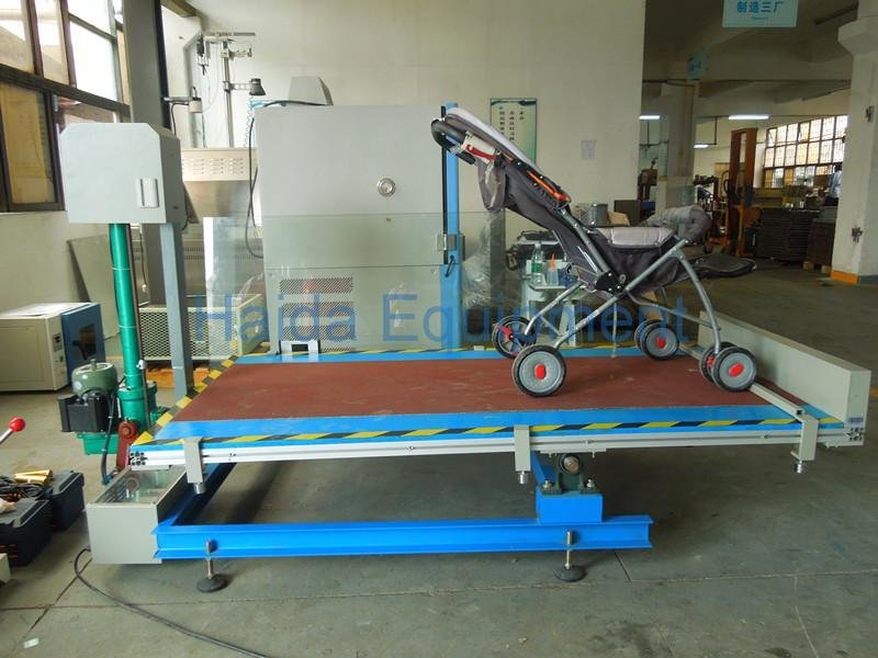 Stroller Simulate Transportation Stability Testing Platform